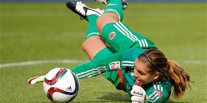 Catalina Pérez, arquera de Colombia Femenina, baja en Copa América