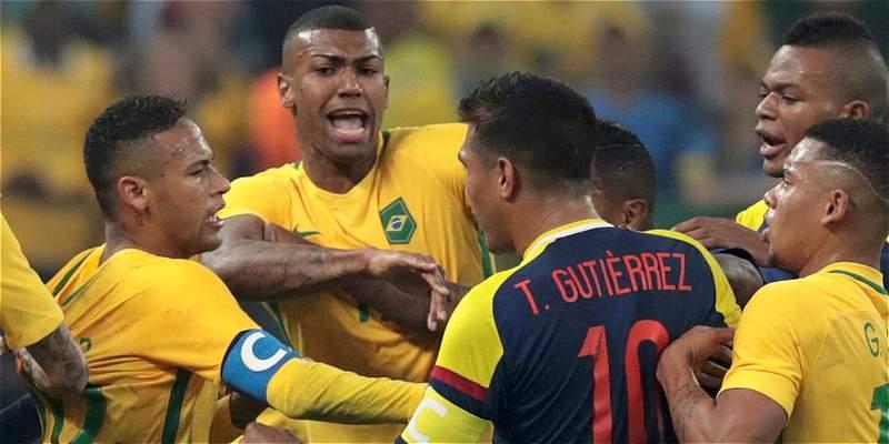 Neymar y 90 minutos en los que sacó de casillas a los colombianos