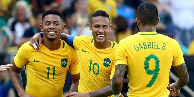 Brasil goleó, gustó y a final de los Olímpicos: venció 6-0 a Honduras