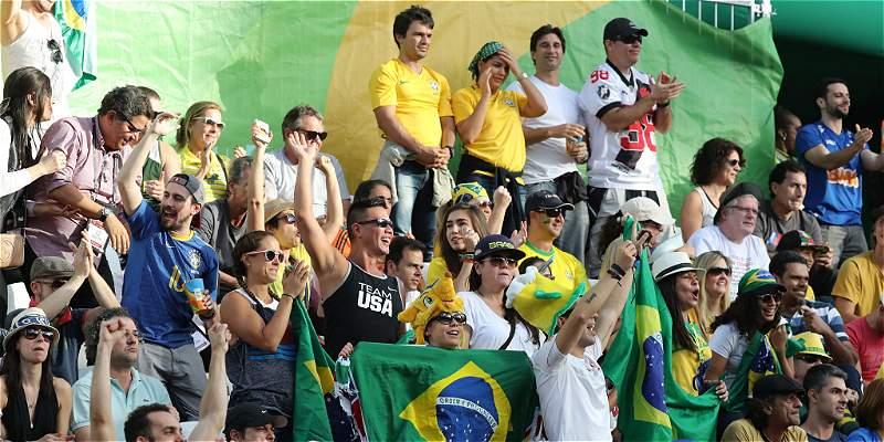 De los hinchas brasileños a los alemanes: \
