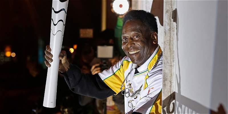 Pelé no participará en la ceremonia de clausura de los Olímpicos