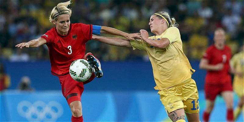 Alemania femenina se quedó con la de oro: venció 2-1 a Suecia