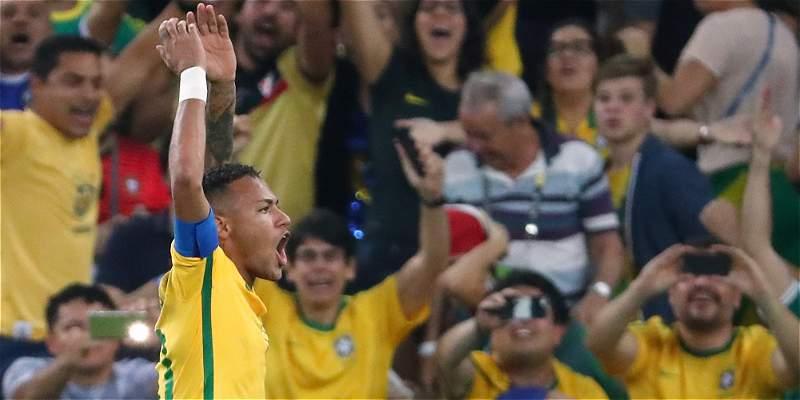Brasil medalla de oro en Juegos Olímpicos