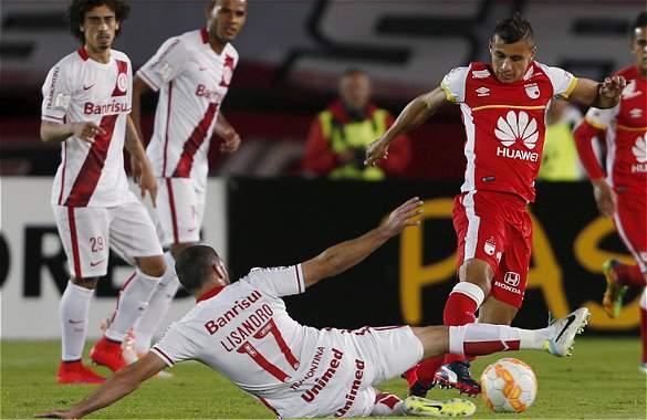 Santa Fe 1 - Internacional 0 Copa Libertadores 2015