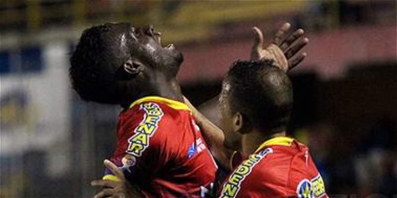 Pasto logró su segundo triunfo en la Liga: venció 2-1 a Once Caldas