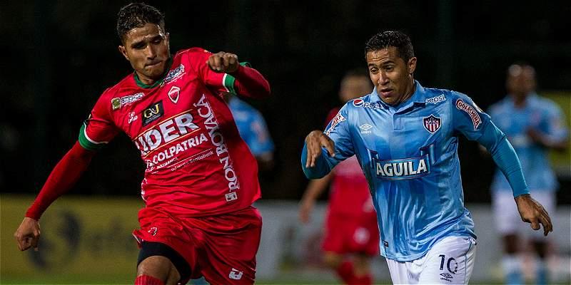 En Techo, Patriotas venció 1-0 al equipo alterno de Junior