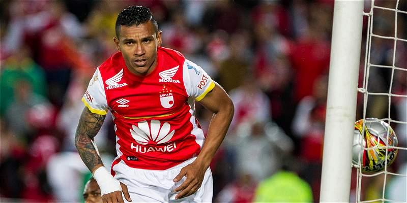 Wilson Morelo y una cifra histórica: 30 goles en un año con Santa Fe