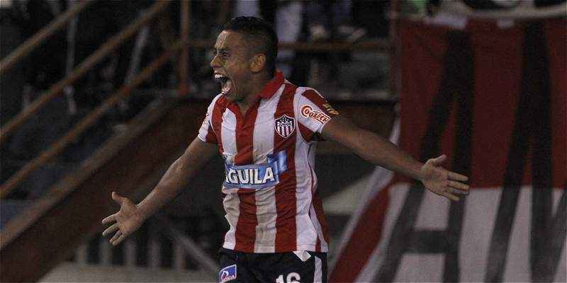 Con dos golazos de Vladimir Hernández, Junior venció 3-1 a Cali