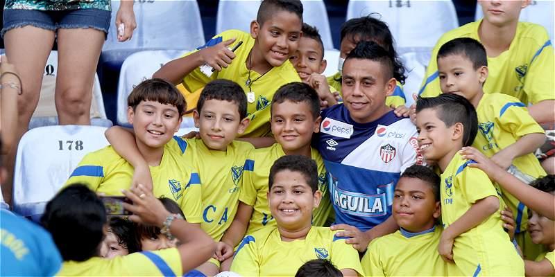 Vladimir Hernández jugador de Junior de Barranquilla