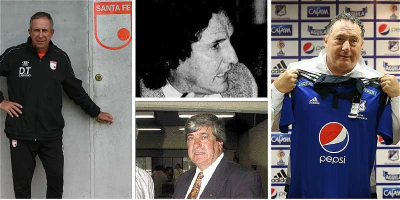 Pelusso e Israel: segundo duelo de uruguayos en el clásico bogotano
