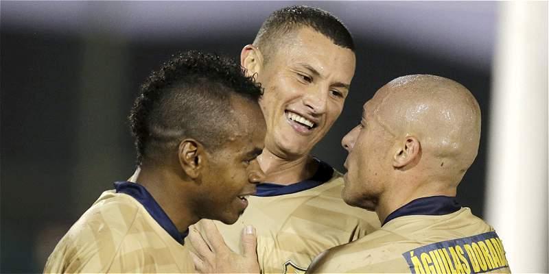 Águilas Doradas y Patriotas empataron 1-1, en el estadio de Rionegro
