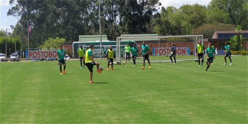 Entrenamiento de Atlético Nacional