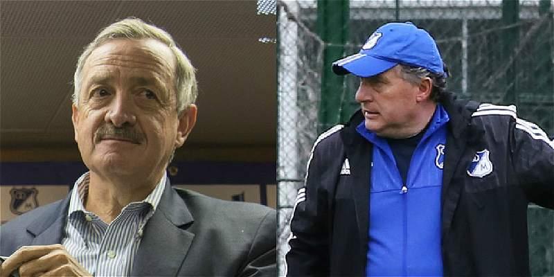 Enrique Camacho y Rubén Israel
