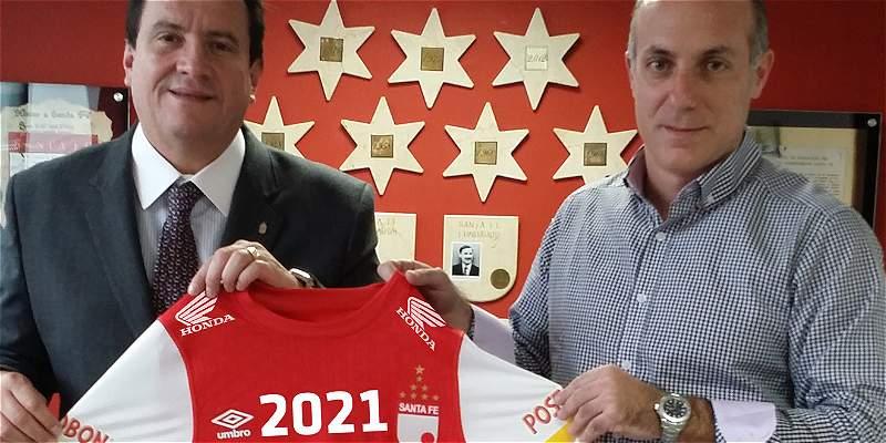 Santa Fe y Umbro sellaron una nueva alianza hasta 2021