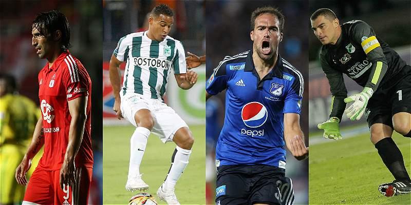 Los últimos grandes jugadores que llegaron al fútbol colombiano
