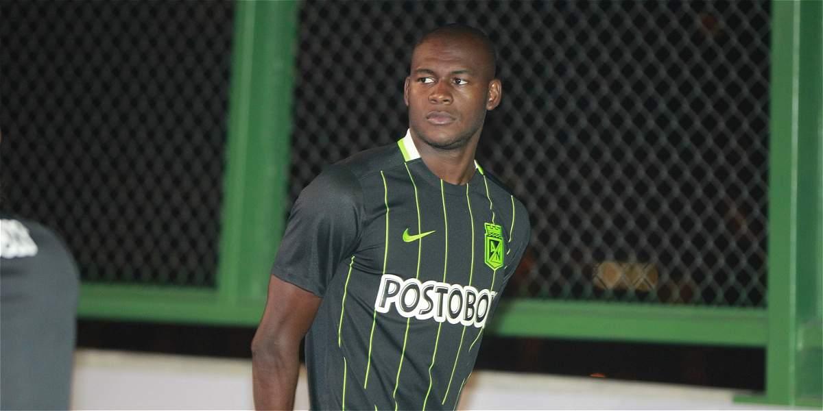 Tranquilidad en Nacional: Víctor Ibarbo ya fue habilitado para debutar