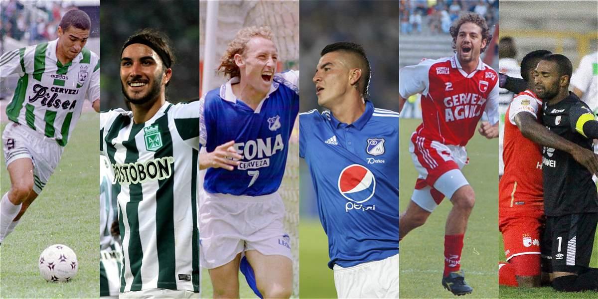 Tablas históricas del fútbol colombiano - Liga Águila | Futbolred ...