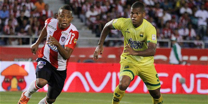 Bucaramanga complicó y confundió a Junior: 1-1 en el Metropolitano