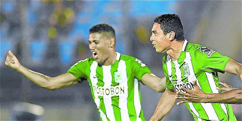 Nacional ganó con golazos: 0-2 sobre Pasto y en la cima de la tabla
