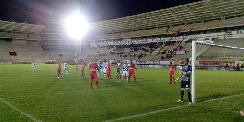 Pese a vencer 1-0 a Chicó, Patriotas se quedó con ganas de clasificar