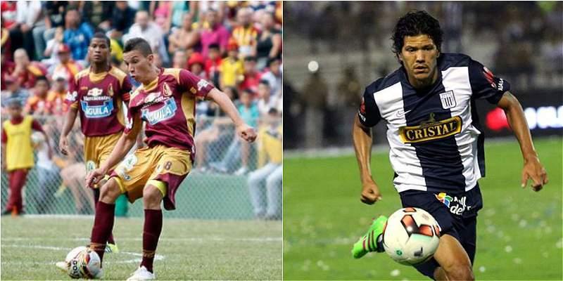 Mateus Uribe y Óscar Vilchez