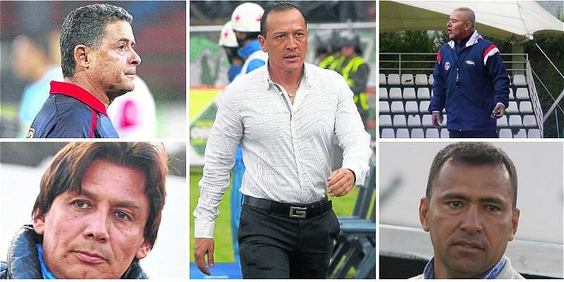 Nuevos técnicos en la Liga Águila II-2016