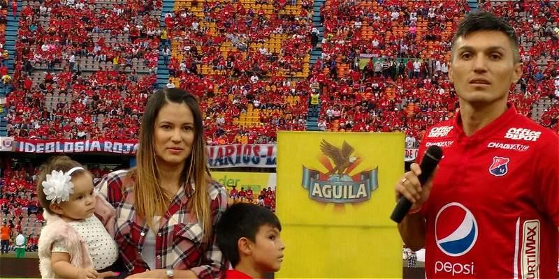 Daniel Torres se despidió de la hinchada de Independiente Medellín