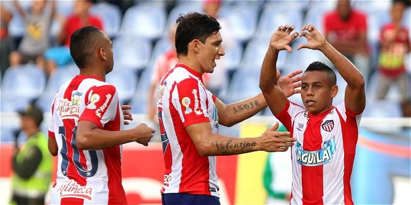 Junior tomó un aire en el \'Metro\': triunfo 2-0 sobre Alianza Petrolera