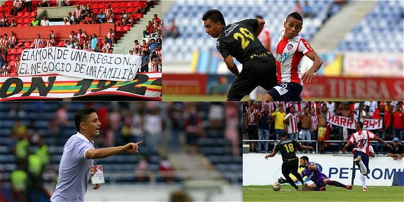 Las mejores fotos de la victoria 2-0 de Junior sobre Alianza Petrolera