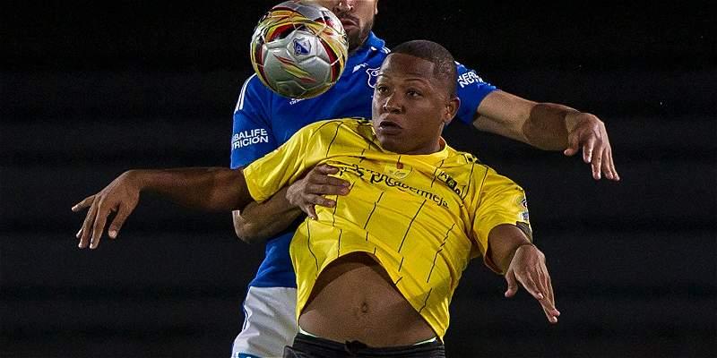 Alianza Petrolera luchó y venció al final del partido: 1-0 sobre Chicó