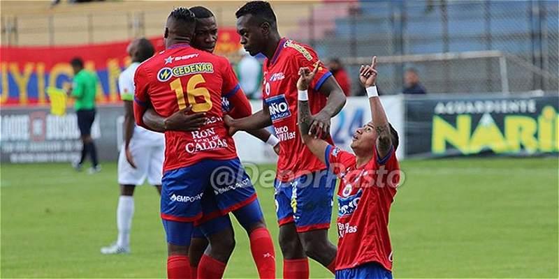 Pasto castigó a un mal parado Once Caldas: lo derrotó 2-3 en Manizales