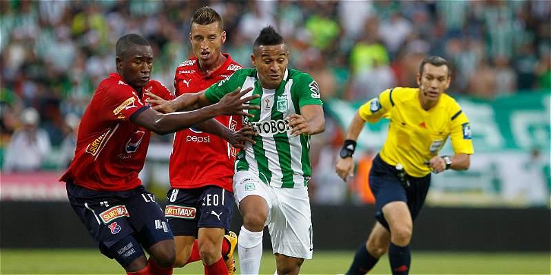 Un gol de Macnelly fue suficiente para Nacional: 1-0 sobre Medellín