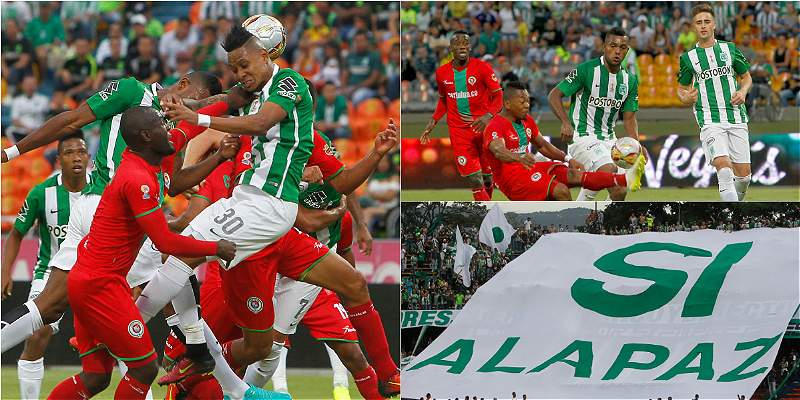 Nacional vs. Cortuluá / Collage