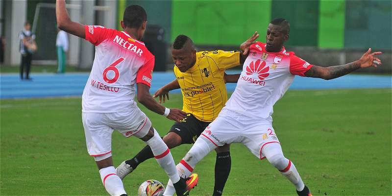Santa Fe volvió a los ocho de la Liga: venció 0-1 a Alianza Petrolera