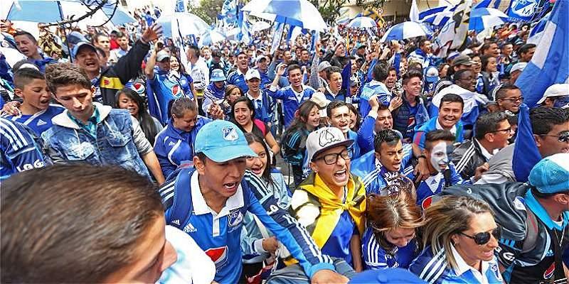 La hinchada de Millonarios vuelve al estadio: aquí los precios
