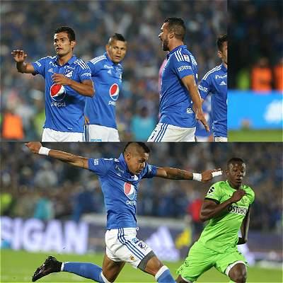 Millonarios-Nacional / Collage