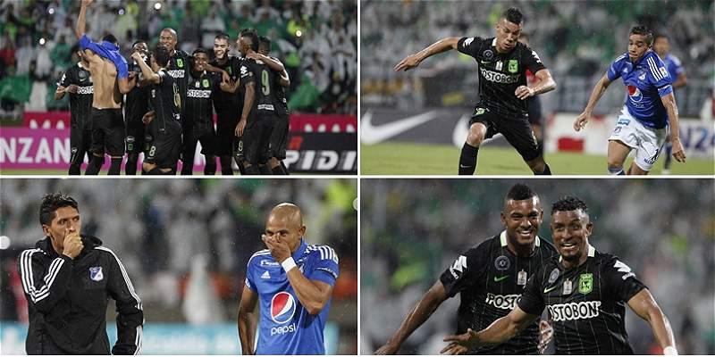 Las mejores imágenes del duelo entre Nacional y Millonarios