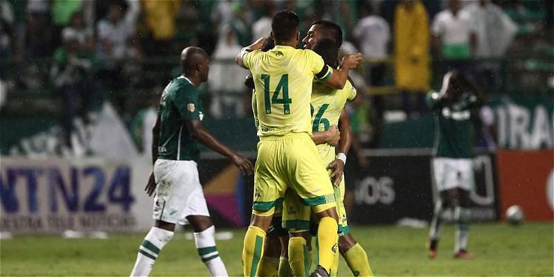 Bucaramanga dio un nuevo golpe y eliminó al Cali: 1-1 en Palmaseca