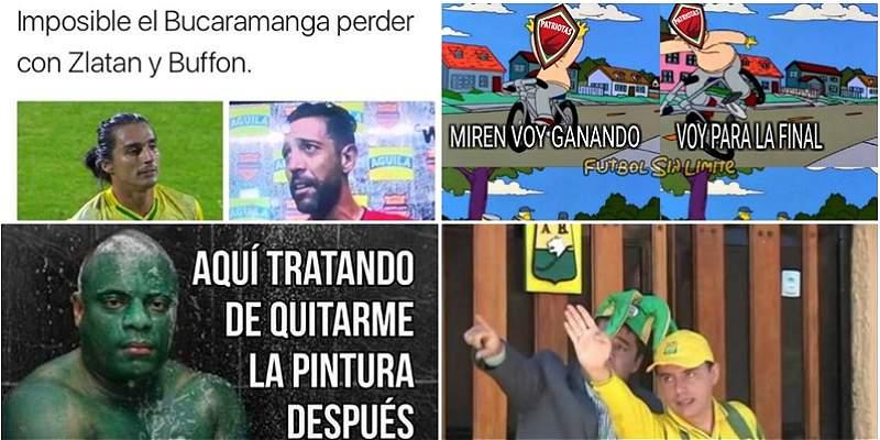 Memes cuartos de final Liga II collage
