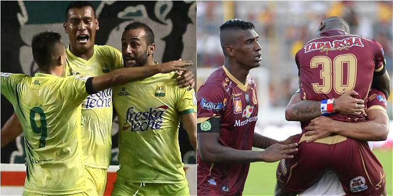 Bucaramanga Tolima semifinal Liga Águila II 2016