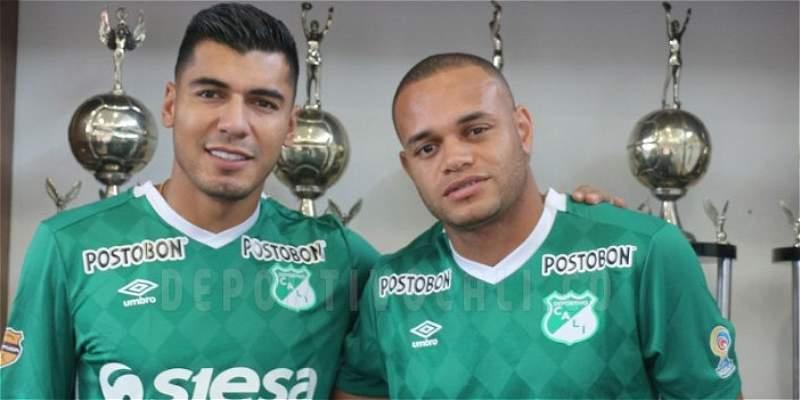 Jéfferson Duque y Pablo Mina