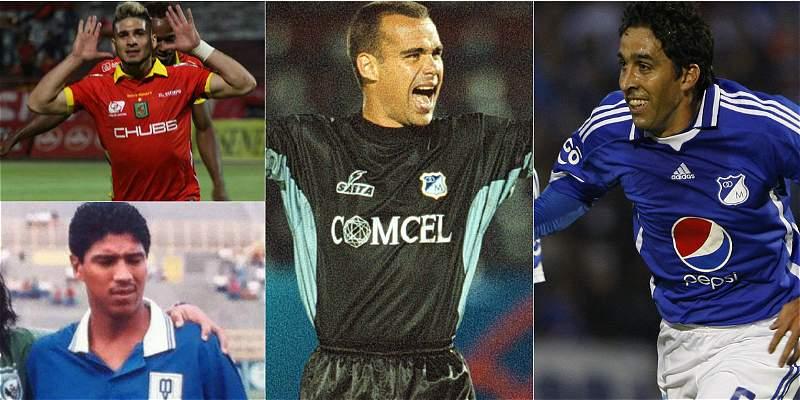 Jugadores venezolanos en Millonarios
