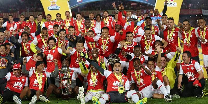 Santa Fe, campeón Liga Águila II 2016
