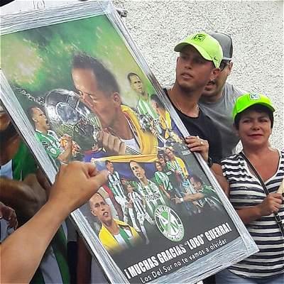 Alejandro Lobo Guerra despedida Atlético Nacional