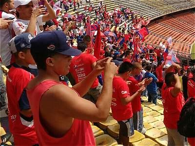 Banderazo hincha Medellín GALERÍA