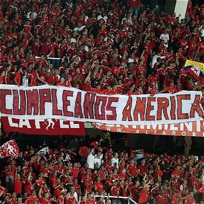 América de Cali celebra sus 90 años