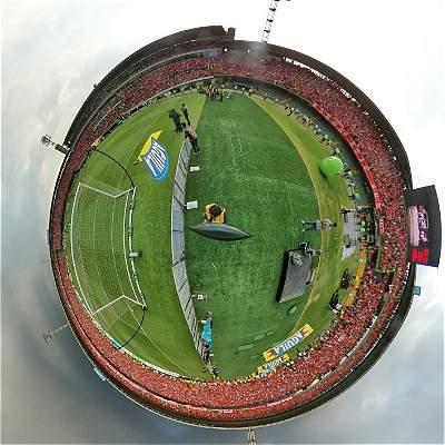 En Fotos: así fue el regreso de América a Bogotá para un juego de Liga