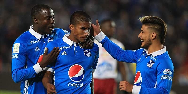 Millonarios: efectividad y superioridad contra Tolima: le ganó 3-0