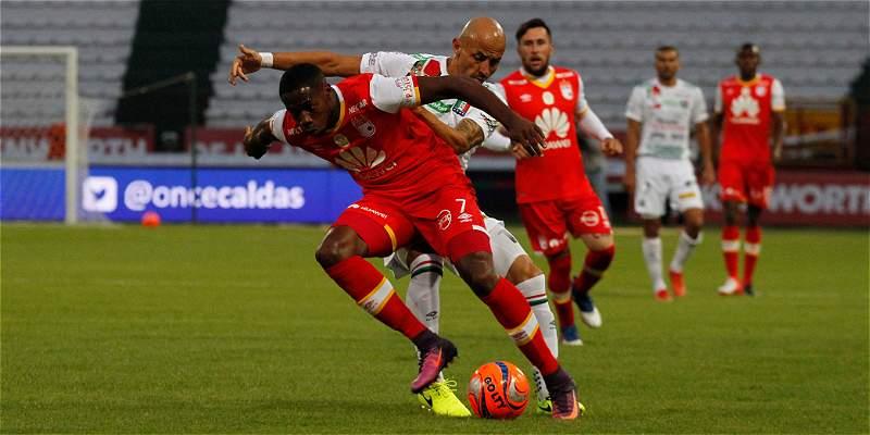 Aburrido empate en el Palogrande de Manizales: O. Caldas 0-Santa Fe 0