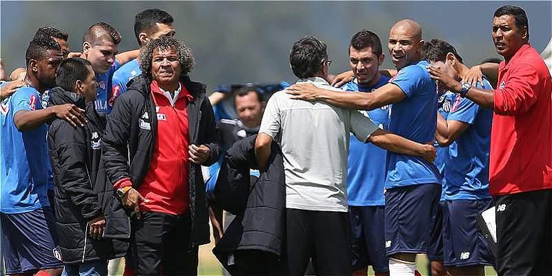 'Vamos a meternos en la Liga, confío en el grupo que tengo': Gamero